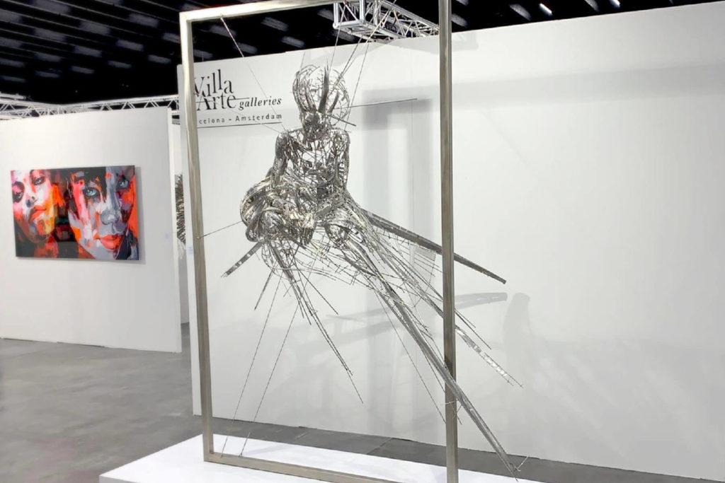 Tributo a Lita - Escultura Figurativa en Acero | Jordi Díez Fernández