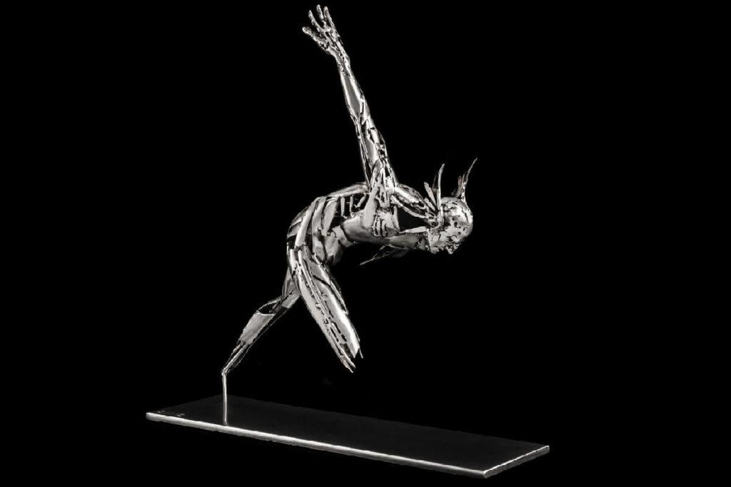 Mercurio II - Escultura Figurativa en Acero | Jordi Díez Fernández