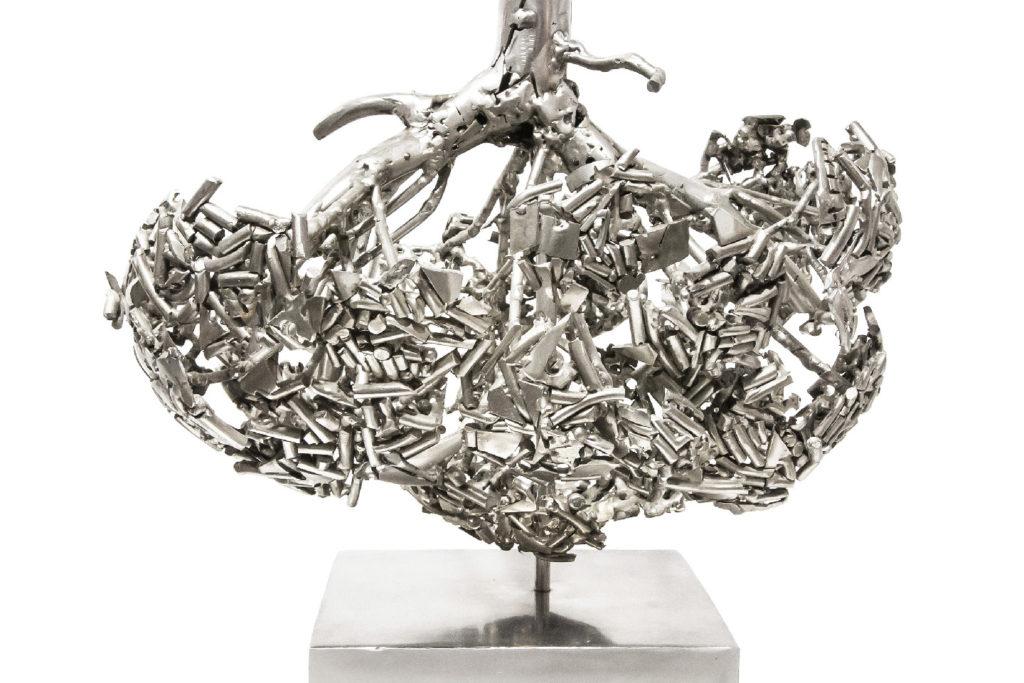 Árbol invertido - Escultura Figurativa en Acero | Jordi Díez Fernández